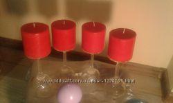 Свечи ручной работы Задобрим огненного петуха