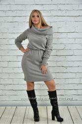 Теплое платье Калабрия 42-74 р