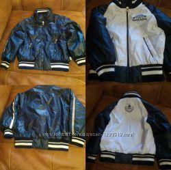 Куртка весенняя  двухсторонняя evolution на мальчика 98