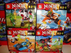 Конструктор ниндзяго Ninja 83-105 дет.