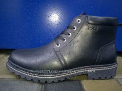 Мужские зимние кожаные ботинки , новые, р. 40-45, в наличии