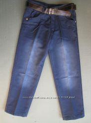 Детские джинсы для мальчика рр. 110-128 Beebaby Бибеби