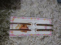 Палочки-заколки для волос деревянные