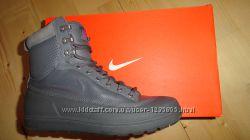 Кожаные ботинки Найк Nike ACG Tychee mid  Leather WMNS Boot р38 24 см