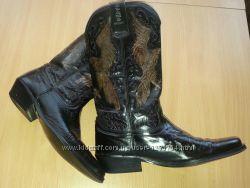 Крутие ковбойки Alam Boots стиль Biker Размер 40