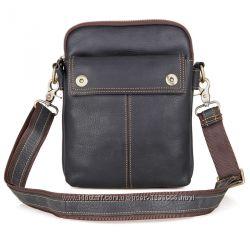 Мужская повседневная сумка через плечо  1002A