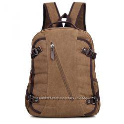Мужской рюкзак канвас 9037C