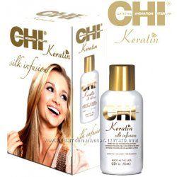 Жидкий шелк для волос CHI Keratin Silk Infusion