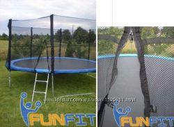 Батут детский FunFit 252 см, с лестницей