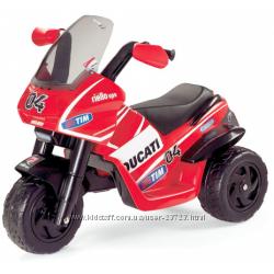 Электромобили, квадроциклы, мотоциклы Peg-Perego