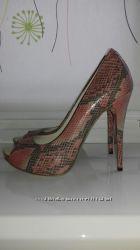 Туфли Fellini с открытым носком , оригинал , Италия