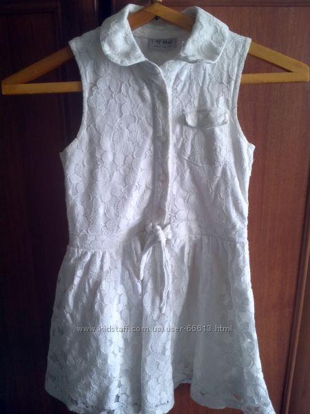 платья белого и розового цветов