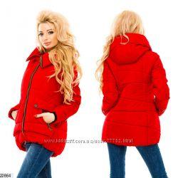 Теплые легкие курточки