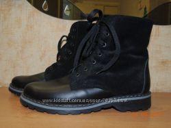 Зимние женские ботинки из натуральных материалов