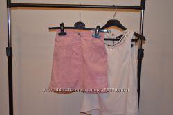 вельветовая юбка р. 128-134см