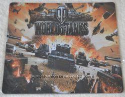 Коврик для мышки World of Tanks Black
