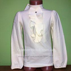 116. 152  Блуза нарядная жабо Смил. Распродажа
