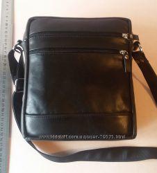 Кожаная мужская сумка. Наличие.
