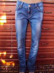 Vanver прямые классические джинсы не зауженные на высокую 30р