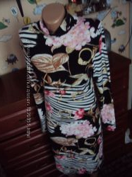 Roberto cavalli оригинал шикарное миди-платье по фигуре l