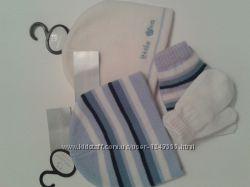 Набор шапка перчатки