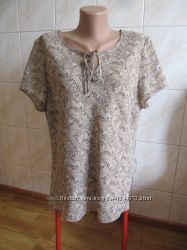 Блуза в красивую расцветку от bonmarche