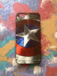 Чехол Капитан Америка для iPhone 5, 5S
