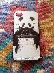 Чехол Панда-Гангстер для iPhone 4, 4S