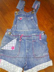 Шорти джинсові для дівчинки 12-18м