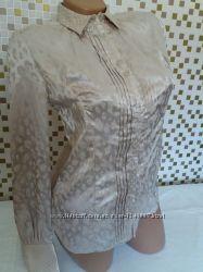 Блузка, рубашка бежевая