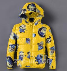 Любителям Миньонов - куртки 110 , тапочки