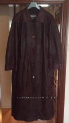 Кожаное пальто размер 62, Moda in Pelle, Турция