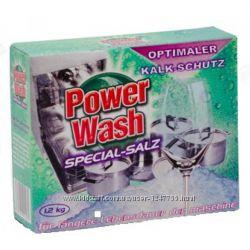 Power Wash Соль для посудомоечных машин 1, 5 кг.