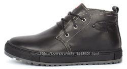 Мужские кожаные ботинки Montana casual 3 цвета