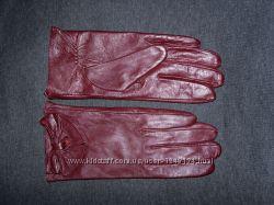 Перчатки кожа M-L. Новые