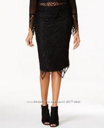 Шикарная юбка карандаш кружево Material Girl  XXS мой пролет ОБ 78 - 82