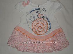 Нарядное платье на 2-6 месяцев