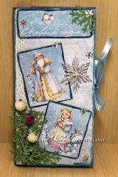 Шоколадница новогодняя Снегурочка3
