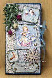 Шоколадница новогодняя Снегурочка4