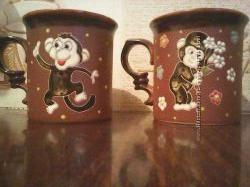 чашки мартышки
