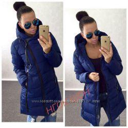 новая красивая зимняя тёплая куртка