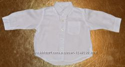 Рубашка белая Gap H&M Carters для малыша 12 мес