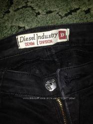 Штаны с заниженной талией, Diesel Industry. Размер 26.