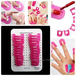 Многоразовые накладки для покрытия ногтей