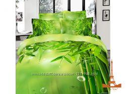 Комплект постельного белья LOVE YOU САТИН 3D