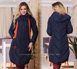 Супер теплые стеганные пальто на холлофайбере. Оменного качества.