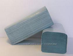 Полотенца бумажные листовые Optimal 200шт макулатура зеленая однослойная