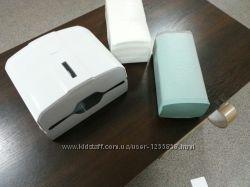 Диспенсер для бумажных полотенец в пачках LuxeOptimal листовые V, C - укла