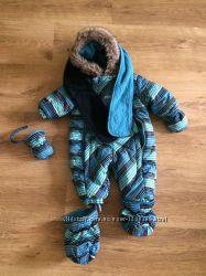 Зимний комбинезон Gusti с варежками, пинетками и шарфом