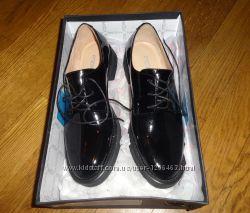 Новые кожаные туфли Миратон Attizzare Португалия, 37 размер.